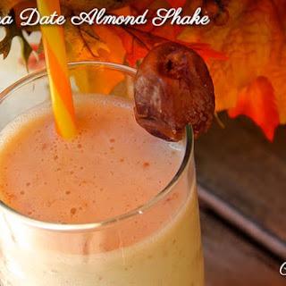 Banana Date Almond Shake.