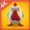 الدجاج البيض لطيف لايف وب APK