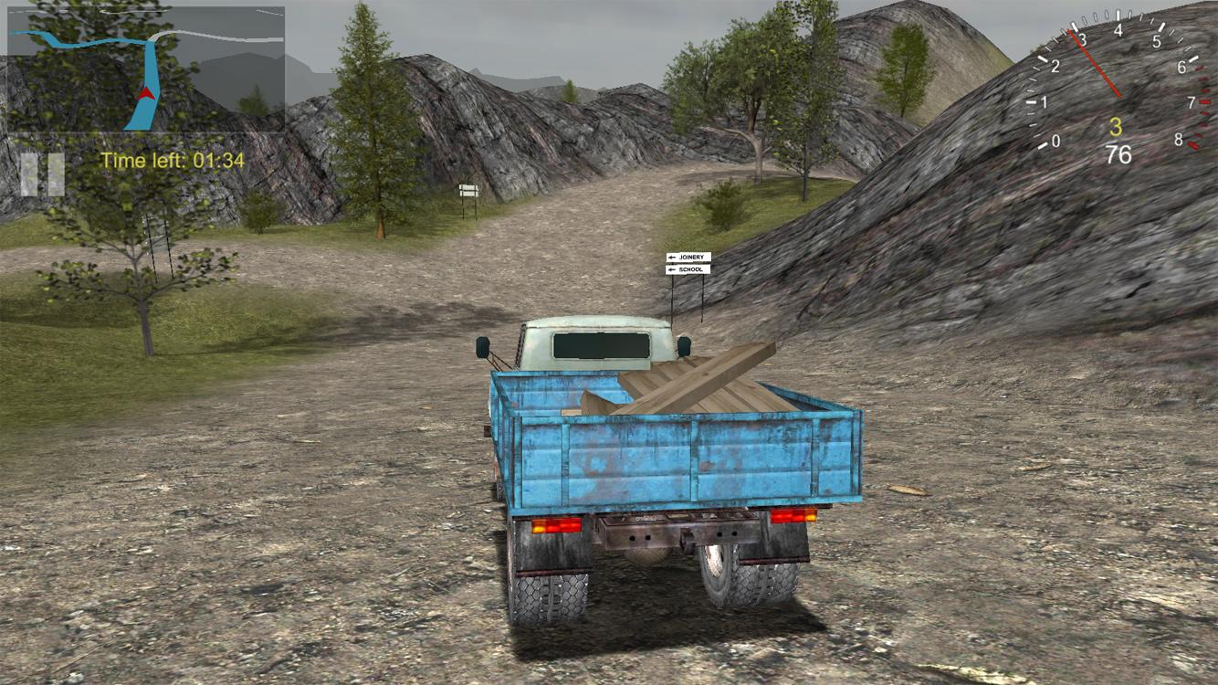 Cargo Drive - Truck Delivery Simulator- screenshot