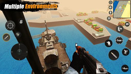 Code Triche Survival Shooter : First Person Shooter Games 2020 APK MOD screenshots 4
