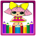 Coloring book for L.Q.L Surprise Dolls for fans APK