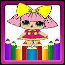 Coloring book for L.Q.L Surprise Dolls for fans APK
