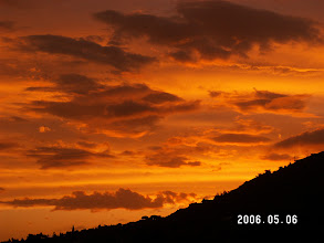 Photo: Sunset from Manoa