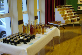 Photo: Mead for the tasting.
