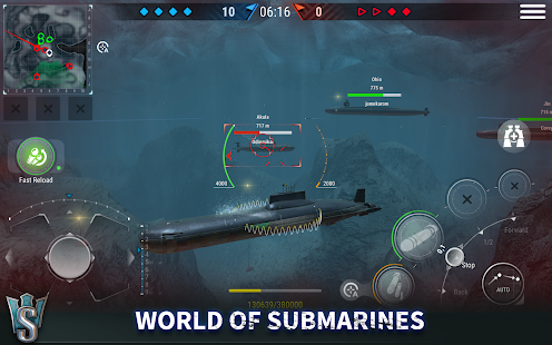 WORLD of SUBMARINES: Navy Shooter 3D Wargame Screenshot