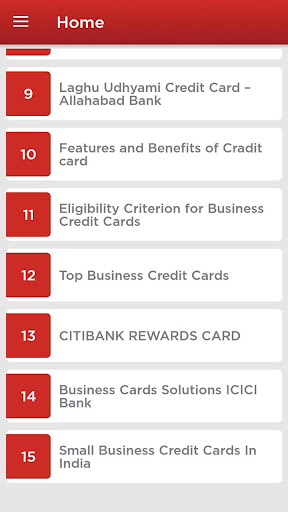 Business Credit Cards for PC