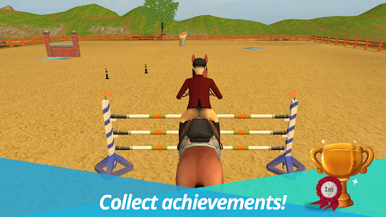 Horse World Premium – Play with horses Mod Apk Download For Android and Iphone 4