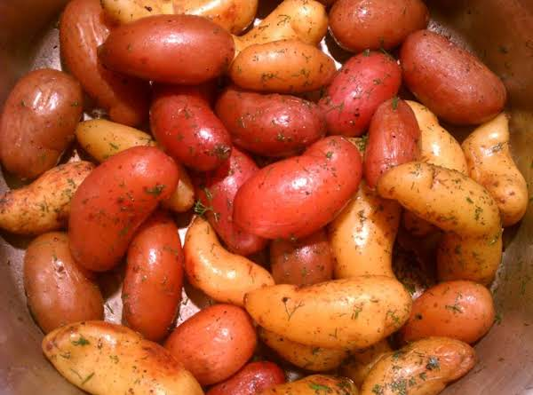Ina's Dill Fingerlings Recipe