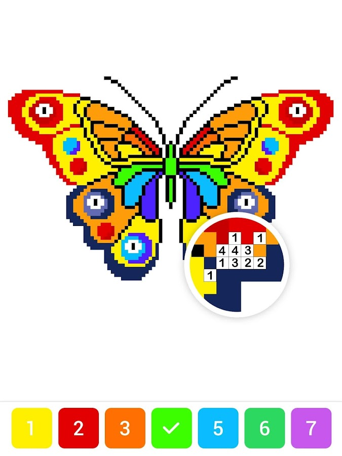 Draw.ly - Color by Number Pixel Art Coloring – Android Apps on ...