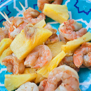 Pineapple Shrimp Kabobs