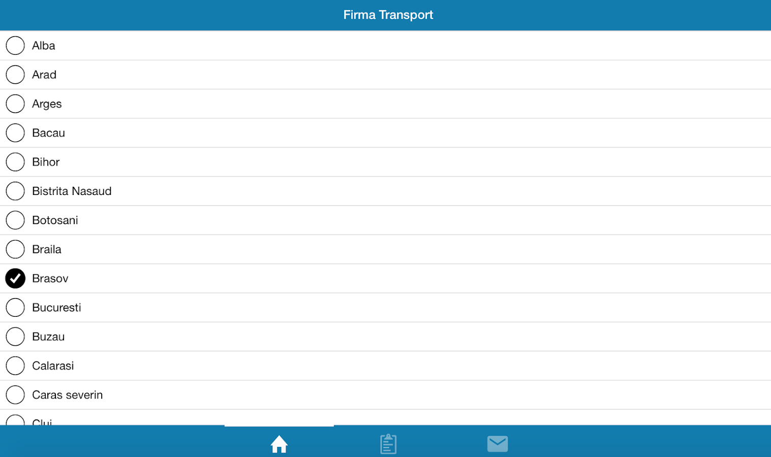 Firma de Transport- screenshot