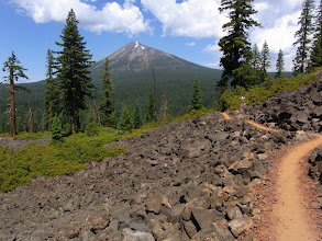 Photo: Mt. McLoughlin from the PCT