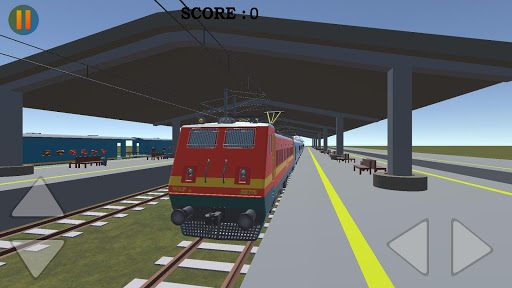 realistic indian train crossing pro screenshot 1