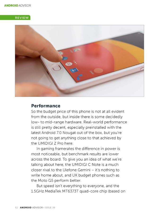 Android Advisor- screenshot