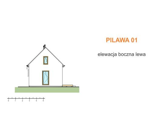 Pilawa 01 - Elewacja lewa