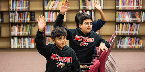DeWitt Perry Middle School makes the classroom more collaborative