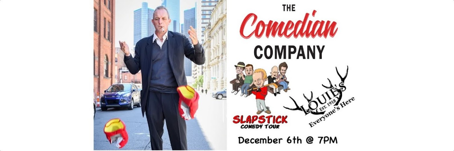 Darren McCarty Slapstick Comedy Tour Returns