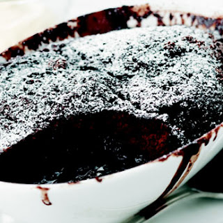 The Easiest Chocolate Self-saucing Pudding.