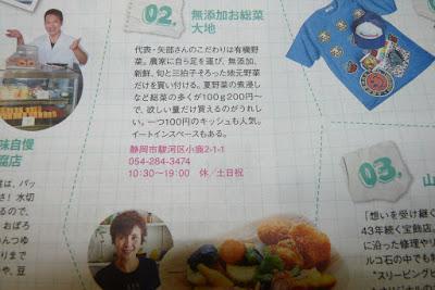 2016年8月7日に静岡新聞社のアステンに小林豆腐店とお総菜大地が掲載されました。その紙面の写真です。