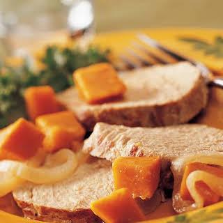 Crock Pot Pork Roast With Sweet Potatoes Recipes.