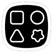 Squircle Lines White UI - Icon Pack