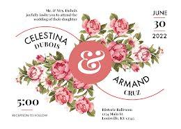 Tina & Armand's Wedding - Wedding Announcement item