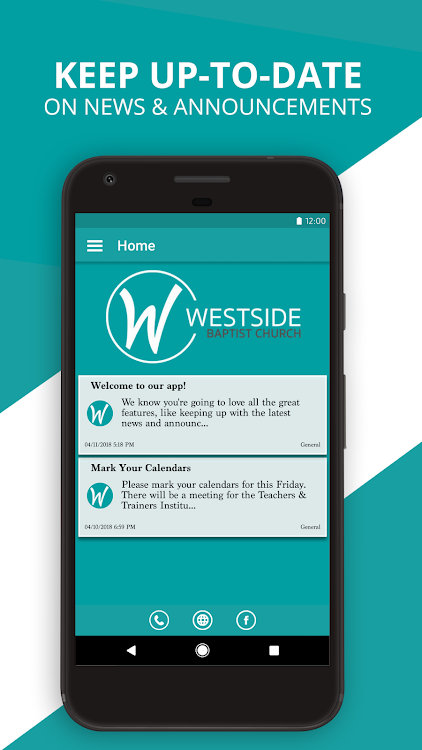 Westside Baptist Church – (Android Apps) — AppAgg