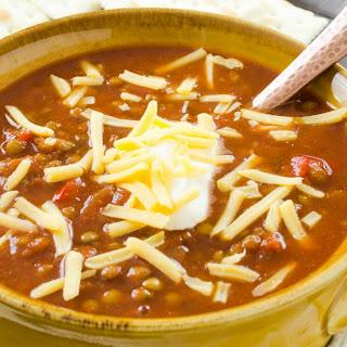 Spanish Lentil Chili Recipe