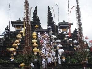 Bali day tour at besakih temple