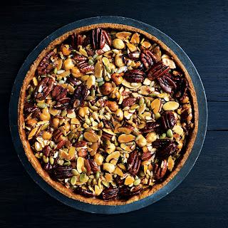 Caramelized-Honey Nut and Seed Tart