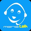 mene talk- Cheap International calling app icon