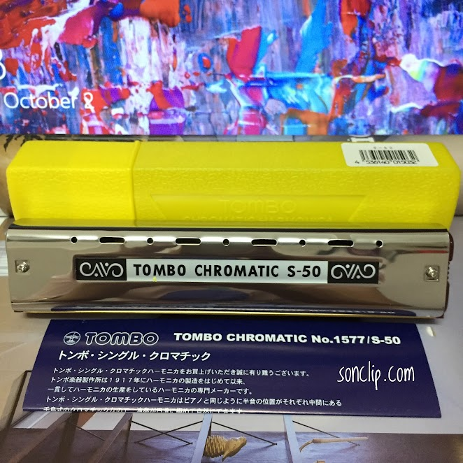 Kèn Harmonica - Tombo Chromatic Single S-50