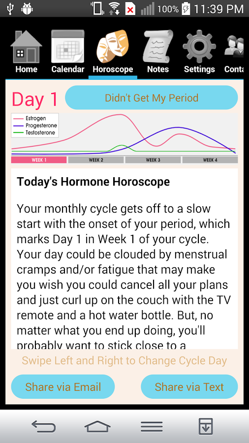 Hormone Horoscope Teen- screenshot