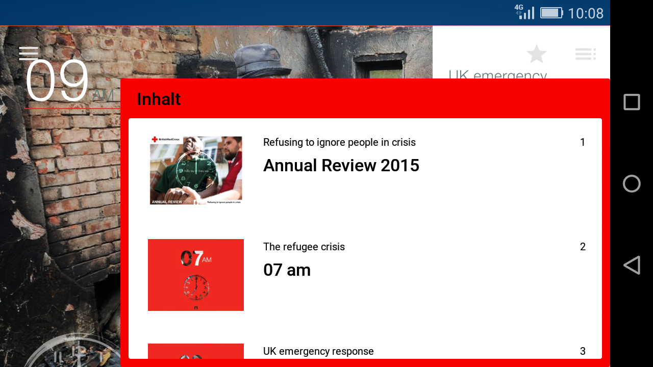 British Red Cross Publications- screenshot