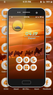 Lap Orange Icons Pack Screenshot