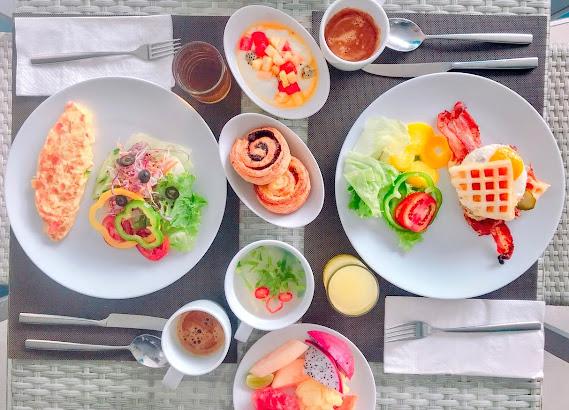 ホテルの朝食@プーケット