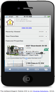 JBLM Real Estate- screenshot thumbnail
