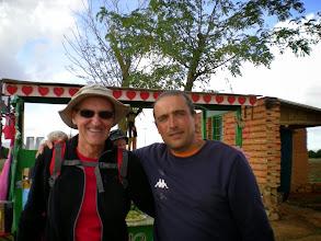 Photo: Etapa 20. Amb David Vidal. Casa de Dios. Camí d'Astorga.