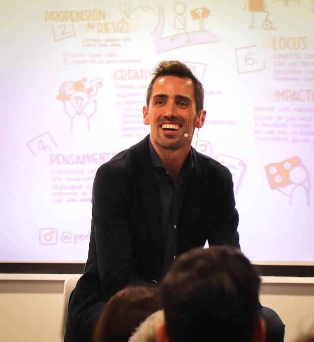 Pedro Miguel Díaz y su vinculación con sus espacios de coworkings para emprendedores.