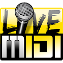 Karaoke Live MIDI Player icon