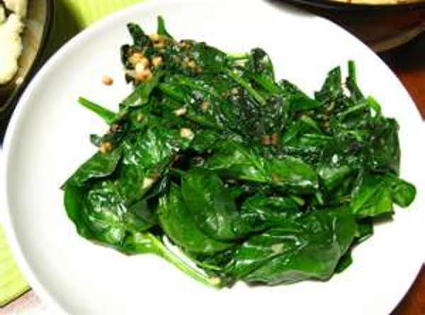 Sauteed Spinach With Sweet Vidalia Onion Recipe