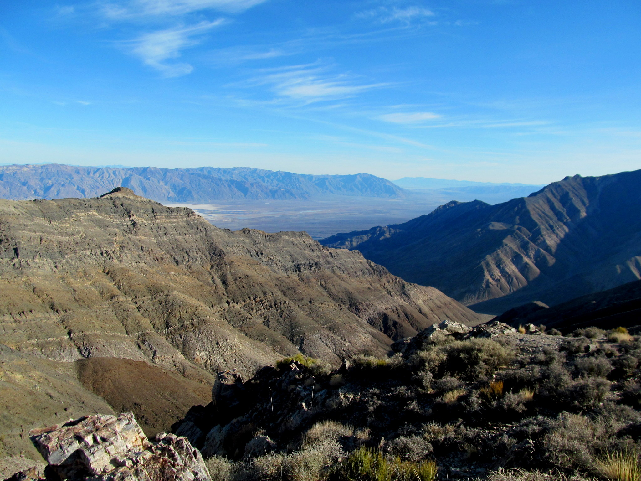 Photo: View southeast from Aguereberry Point toward Badwater Basin