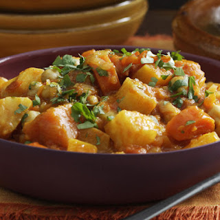 Vegetable and Chickpea Couscous.