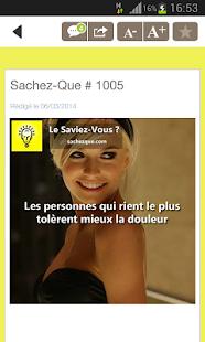 Download Le Saviez-Vous ? APK