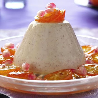 Tropical Fruit with Vanilla Pudding