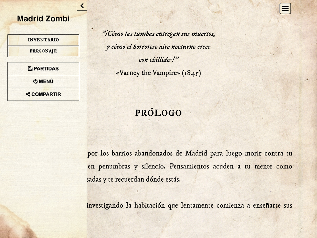 Madrid Zombi: captura de pantalla