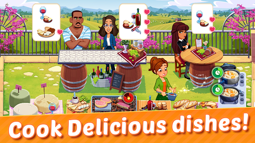 Delicious World - Romantic Cooking Game apkmr screenshots 4