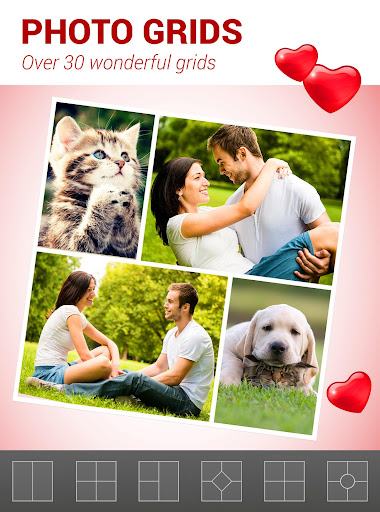 Love Collage - Photo Editor screenshot