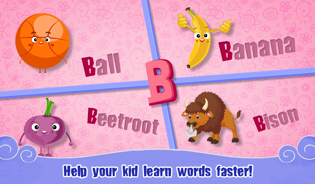 Learning Words For Toddlers- screenshot