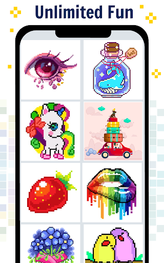Pixel Art Color by number - Coloring Book Games 2.2 screenshots 2